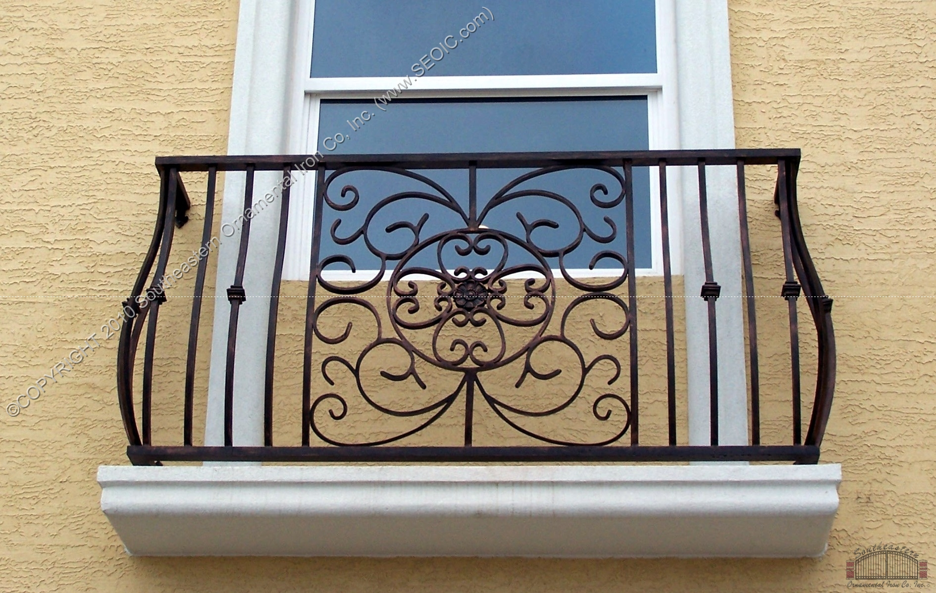 Aluminum balcony railing page 3 for Modern french balcony
