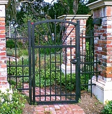 Gentil Aluminum Garden Gate (#WG 2) ...