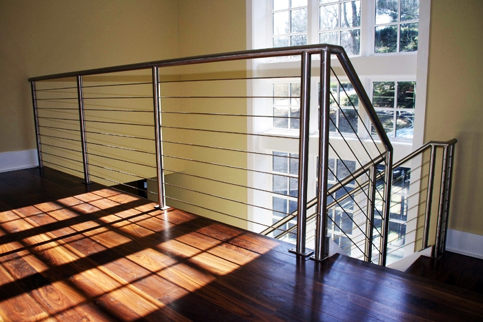 Cable railing for Stainless steel railings interior