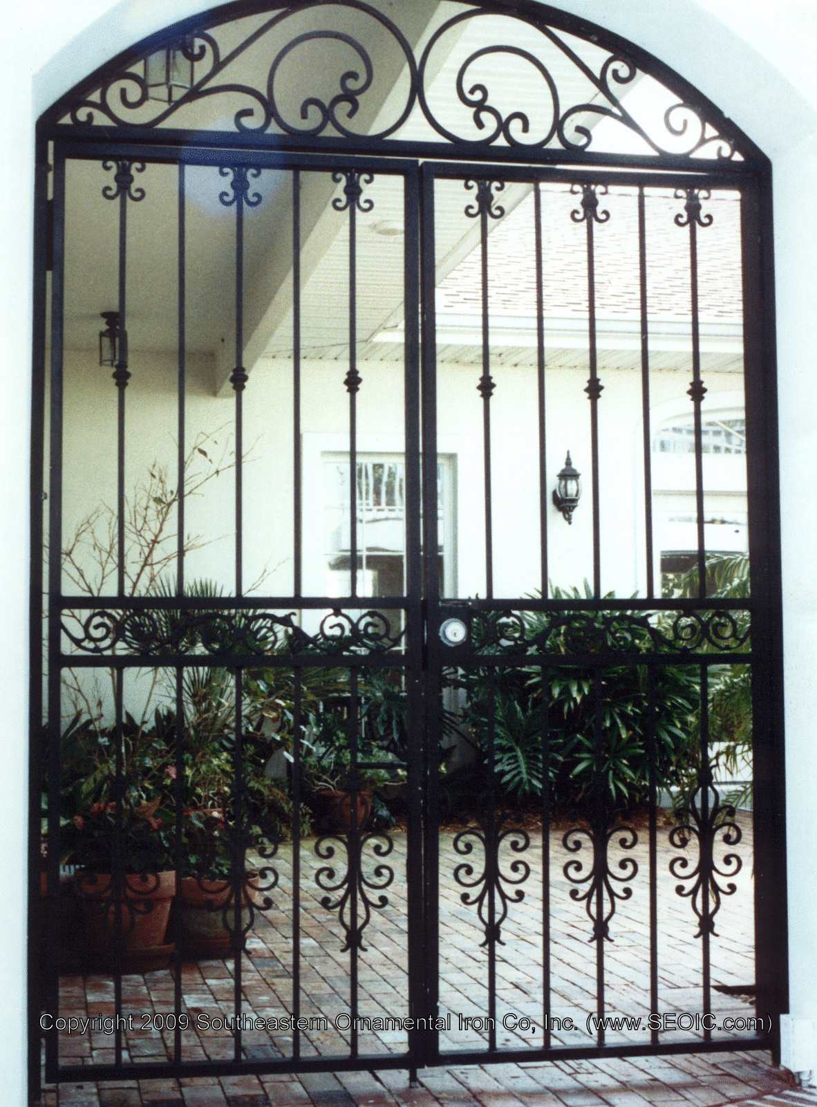 Wrought Iron Gates: Walk Gates, Garden Gates, Courtyard Gates, Security Gates