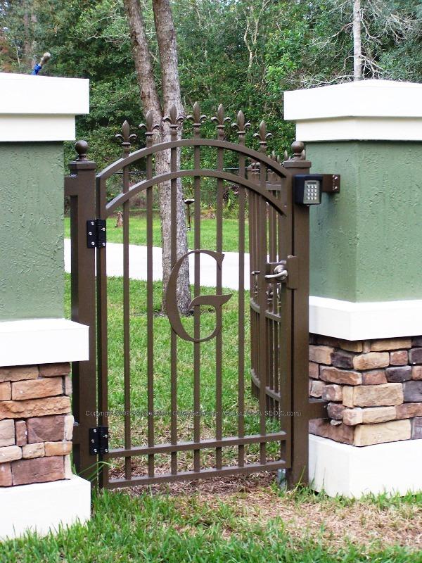 Ordinaire ... Aluminum Security Gate (#WG 29) ...