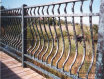 Aluminum Bellowed Railing-Verdi Finish (#R-9)