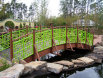 Cusom Designed Bridge Railing at Jax Zoo (#R-96)