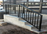 Basic aluminum porch rail