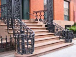 Decorative Wrought Iron Porch Railing (#PR-13)