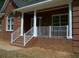 Basic Porch Railing w/ Bold Posts (#PR-12)