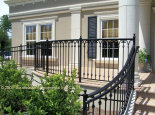 Custom Aluminum Porch Railing (#PR-86)