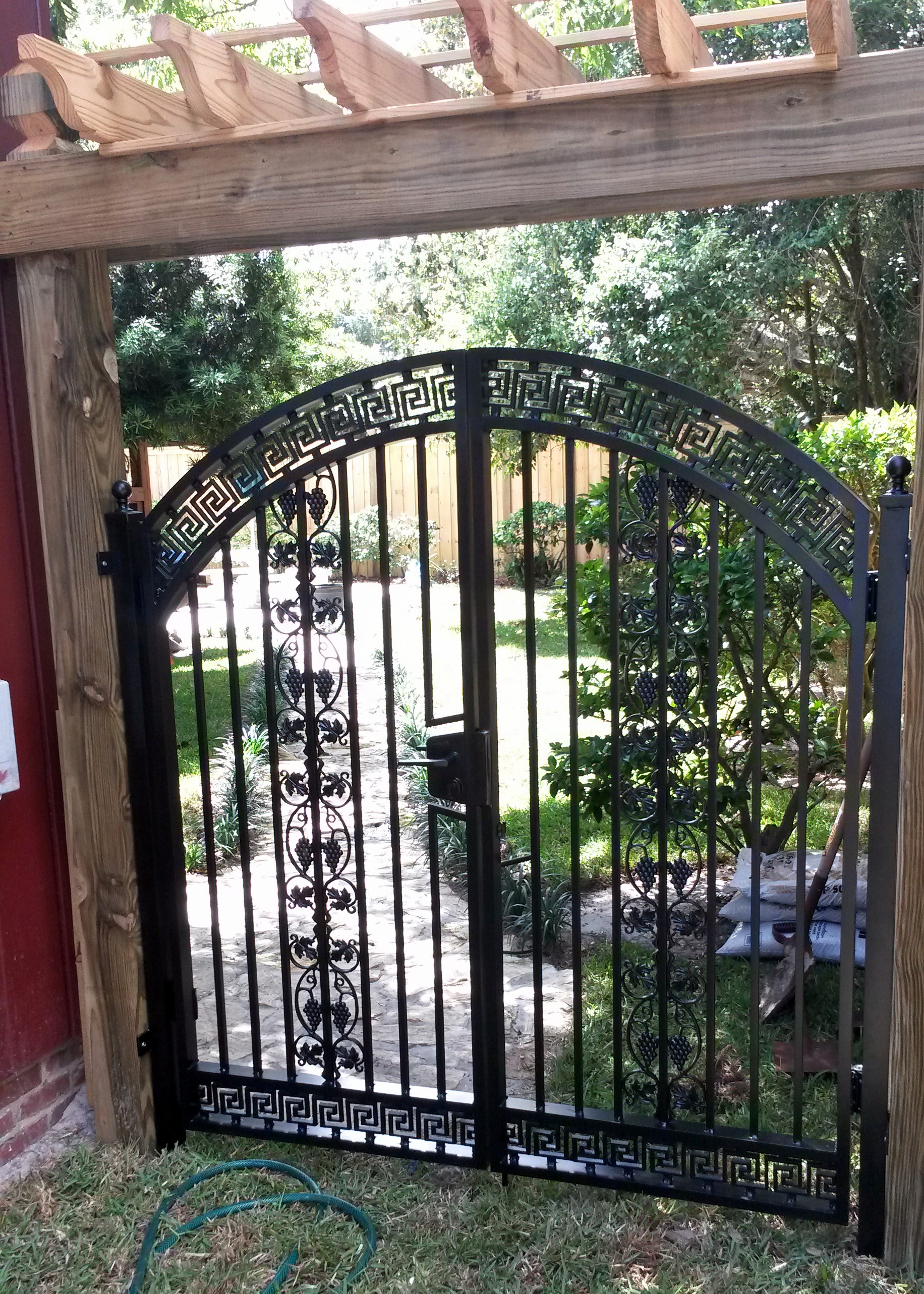 Exceptionnel ... Custom Aluminum Asian Style Walk Gate With Locinox Gate Latch